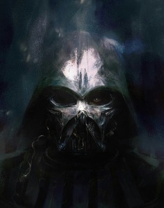 Dath Vader painting